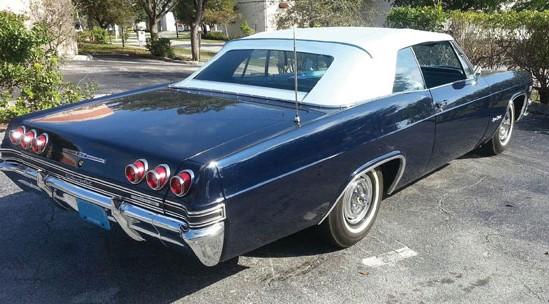 Rough Ragtop 1965 Chevy Impala Ss