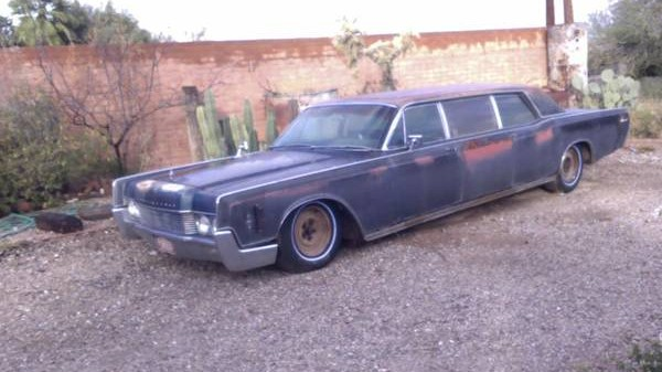 Faded Glory 1966 Lincoln Limousine