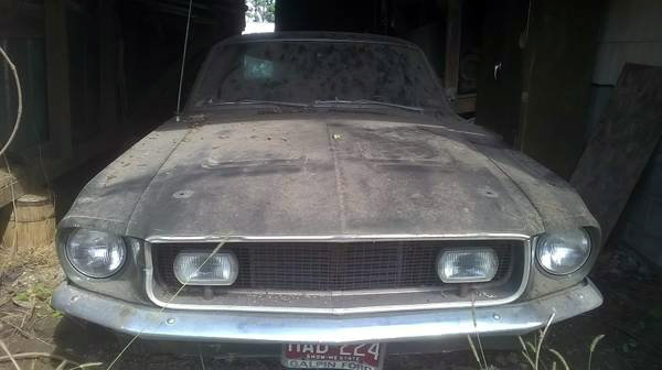California Special: 1968 Mustang Barn Find