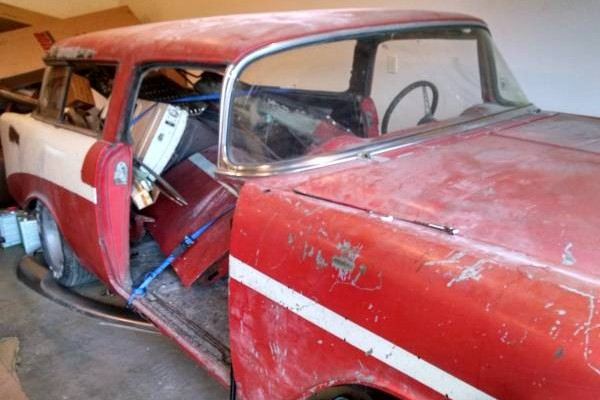 Can You Find This 1956 Chevy Nomad A Home?