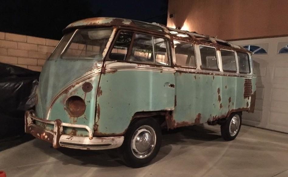 1962 Vw Bus 23 Windows