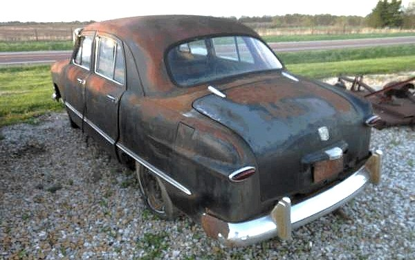 We Love Ford S Past Present And Future 1950 Ford Shoebox Coop Sedan