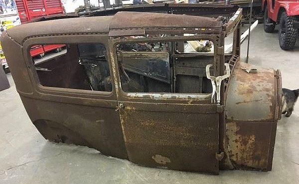 Rat Rod Builders Model A Body Two Fer