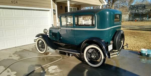 Decent Driver: 1928 Model A