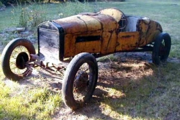 1927 Ford Model T Speedster As Found