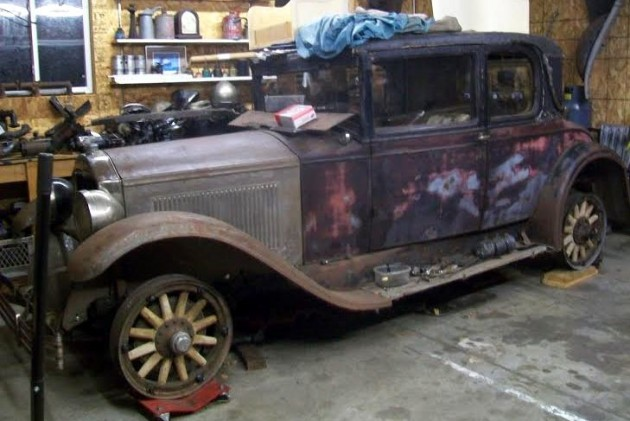 1928 Buick Project