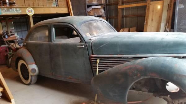 coffin hood 1936 cord westchester sedan. Black Bedroom Furniture Sets. Home Design Ideas