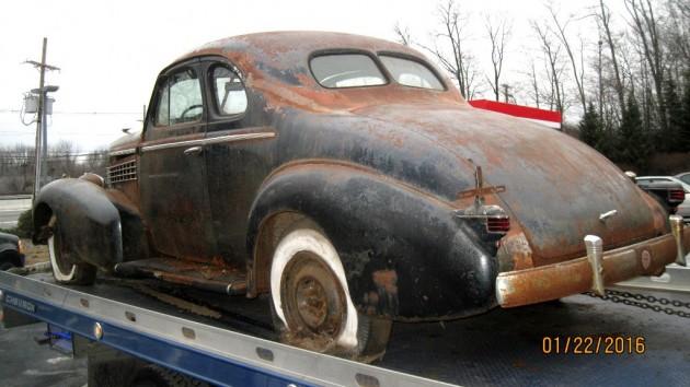 1938 LaSalle Opera Coupe