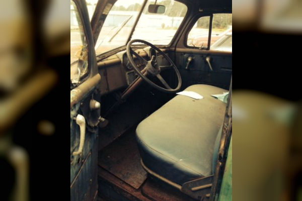 1953 Dodge B4B Interior