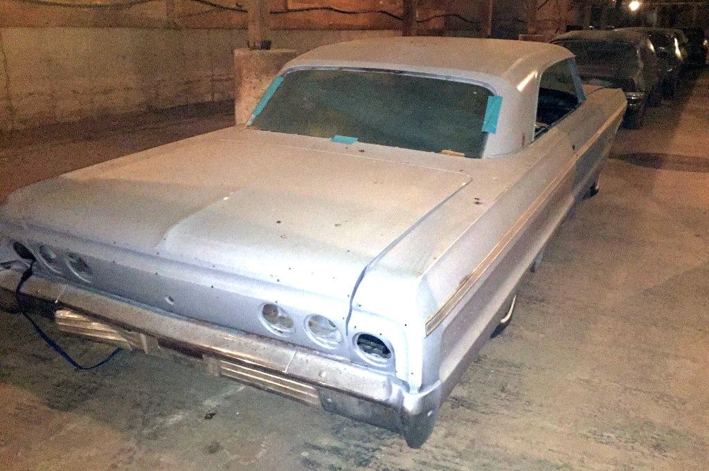 Real Ss 409 1964 Chevrolet Impala
