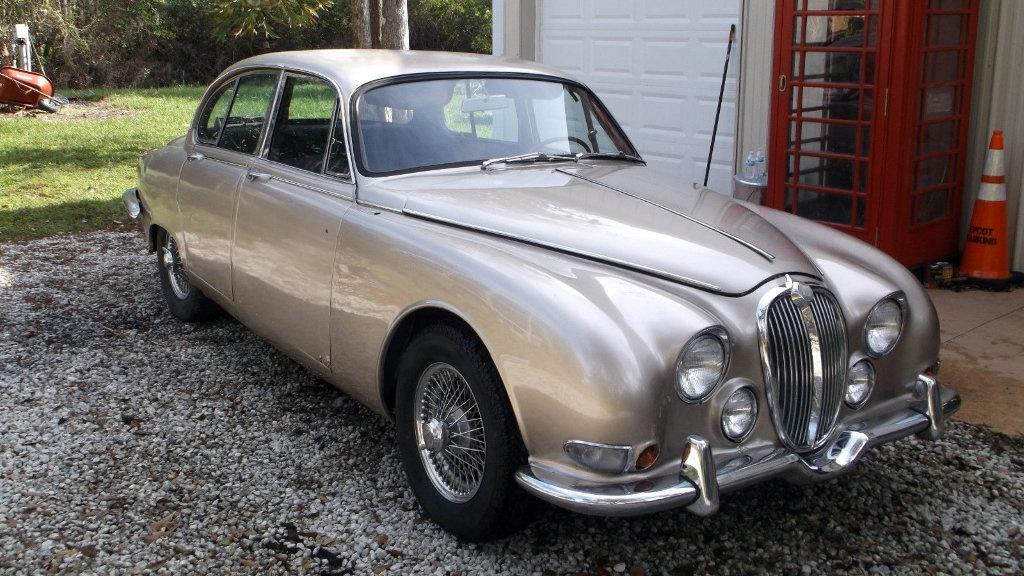 No Reserve Survivor: 1964 Jaguar S-Type - Barn Finds