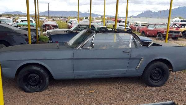 Desert 1965 Mustang Convertible Project