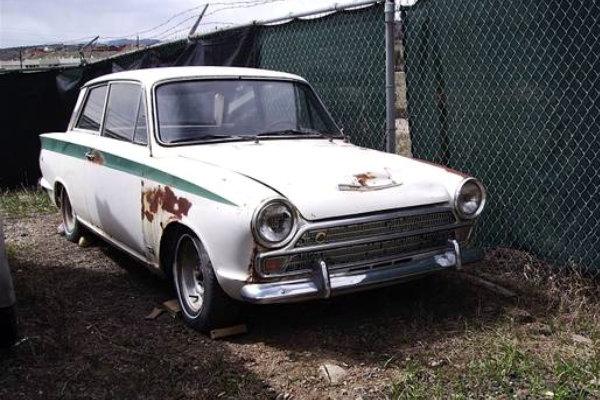 Original Q Ship 1966 Lotus Cortina