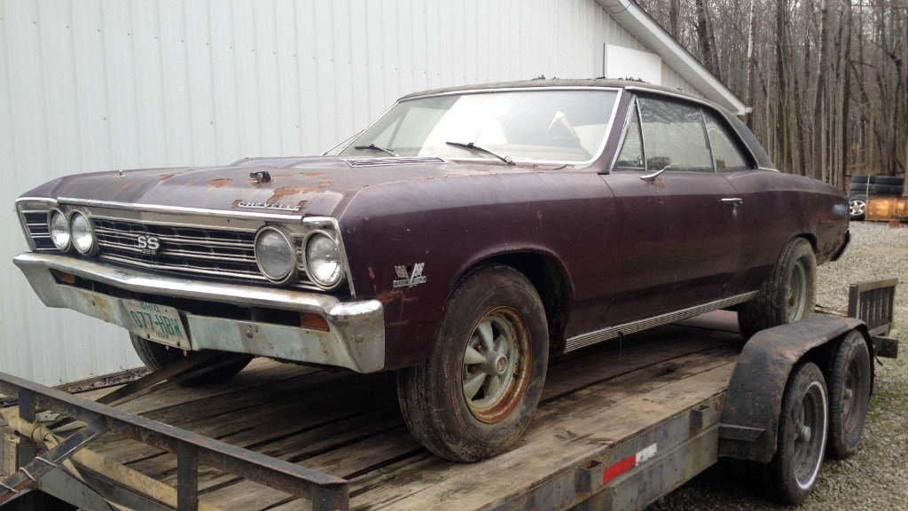 24k Mile 1967 Chevelle SS396 Project