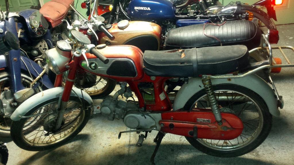Rare but cheap 1967 honda ss50 for Cheap honda motors for sale