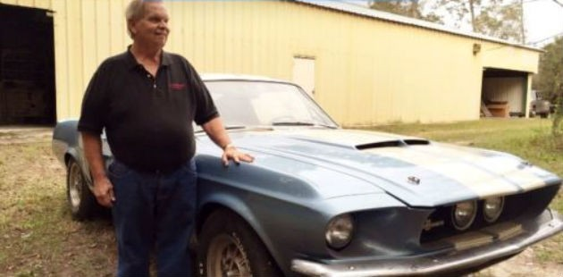 1967 Shelby GT350 Barn Find Now