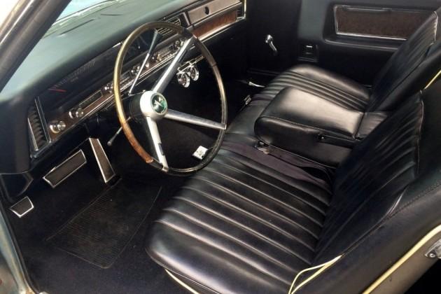 1968 Pontiac Grand Prix Interior