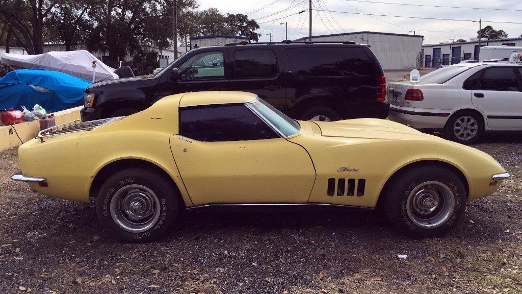 Stingray Barn Find 1969 Corvette