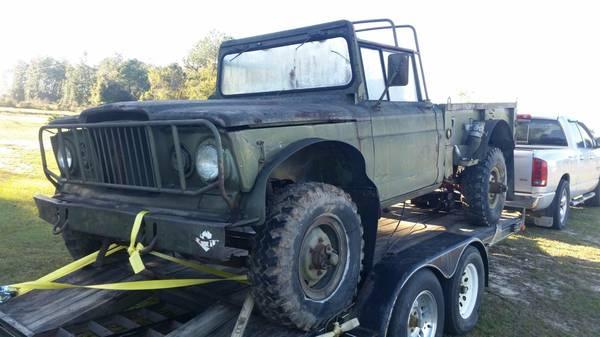 Five Quarter Ton Kaiser Jeep Fun: 1969 M715