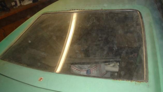 1970 AMC AMX rear window