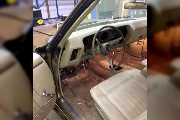 1970 GTO Judge Interior