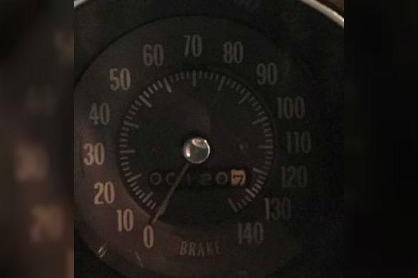 1970 GTO Judge Speedometer