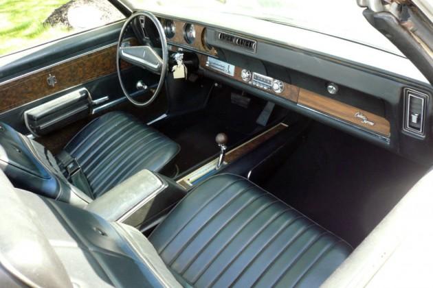 1970 Oldsmobile Cutlass Convertible Interior