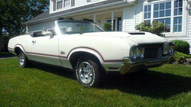 1970 Oldsmobile Cutlass Pace Car