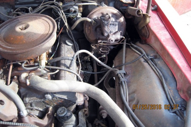 1971 Camaro Engine