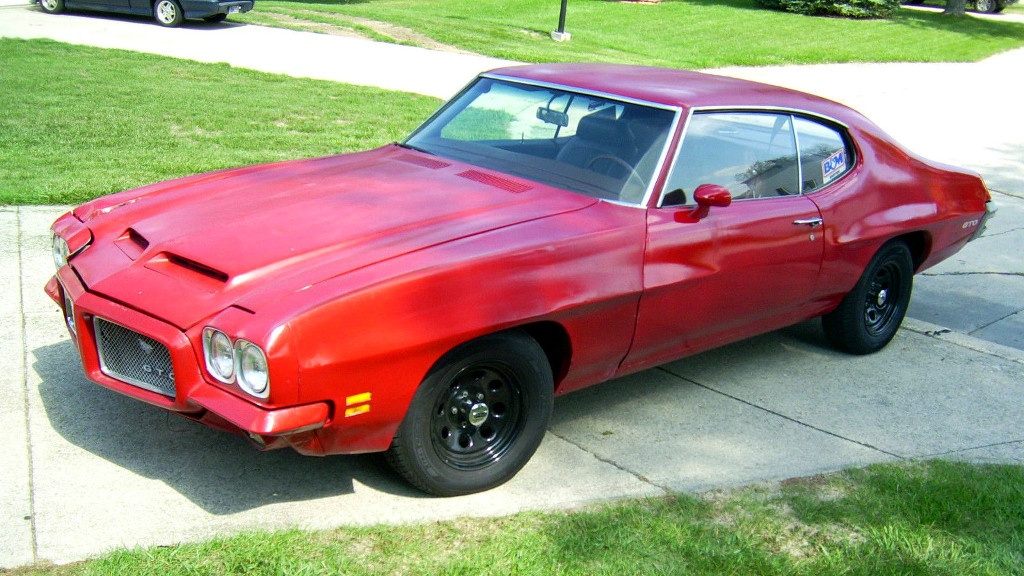 Red And Ready To Roll 1971 Pontiac GTO