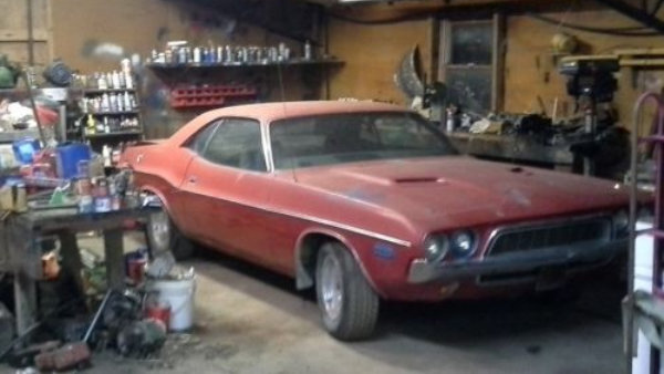 Parked Since '79: 1972 Dodge Challenger