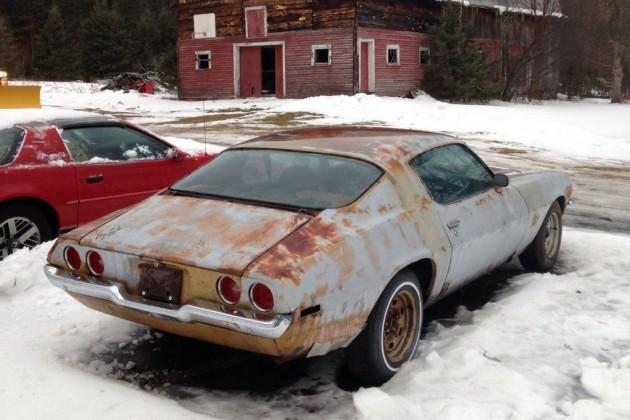 Slightly Rusty 1973 Camaro Lt