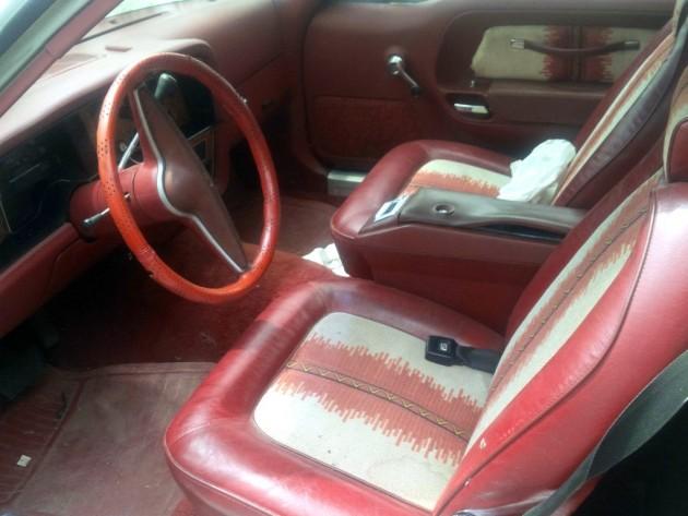 1976 AMC Pacer Interior