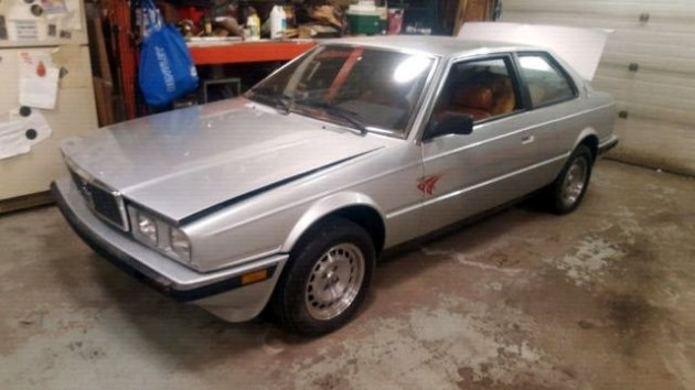 Cheap Italian: 1986 Maserati Biturbo
