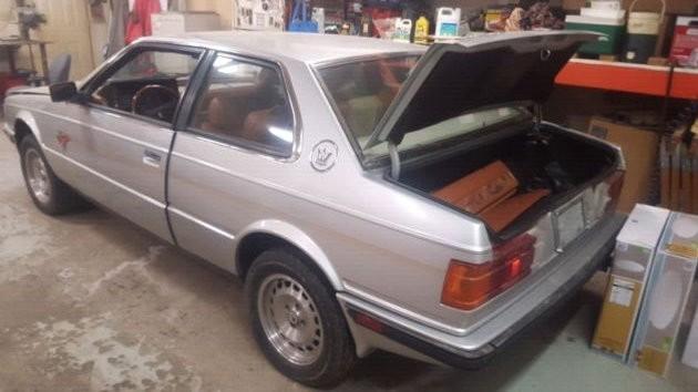 1986 Maserati Biturbo Coupe