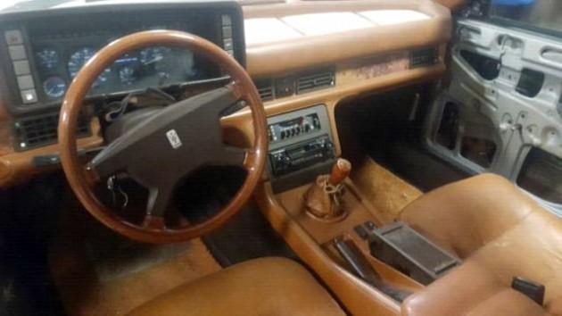 1986 Maserati Biturbo Interior