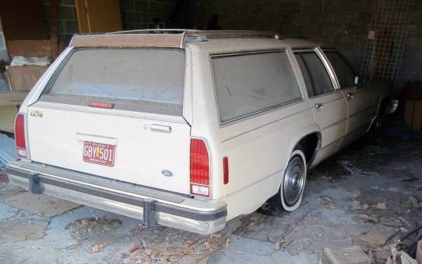 1987 Ford Wagon With Only 1,400 Miles!