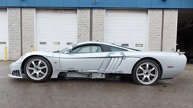 Saleen S7 For Sale >> Wrecked Supercar At Insurance Auction!