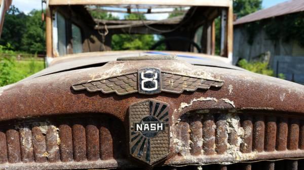'31 Nash grill
