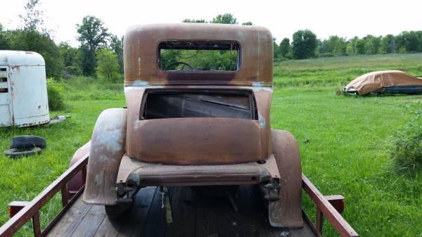 '31 Nash rear
