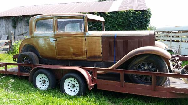 '31 Nash right side