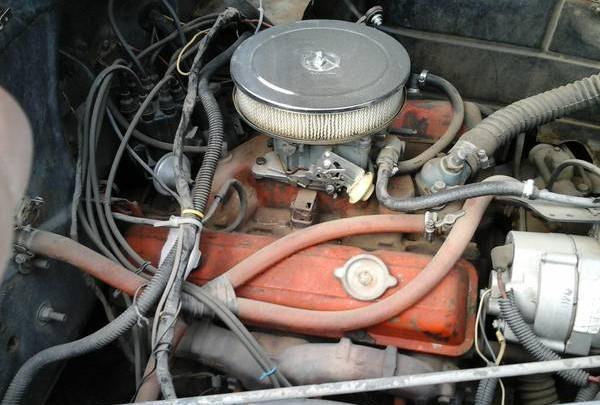 41 Buick engine