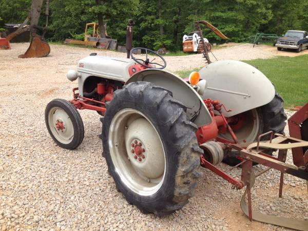 '49 Ford 8N left