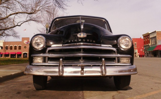 '50 Plymouth front
