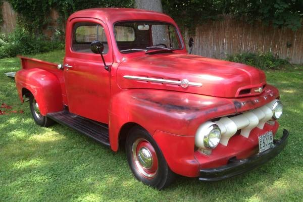 Amazingly Original 1952 Ford F 1