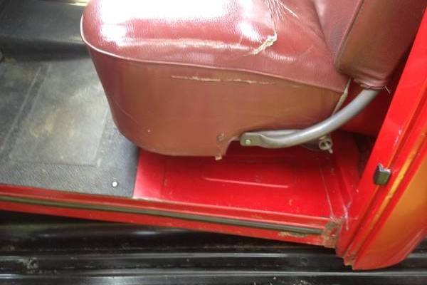 52 Ford front seat
