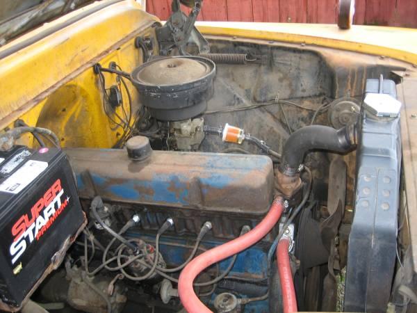 '59 CHEVY APACHE engine