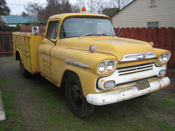 Black Plate Dually: 1959 Chevrolet Apache