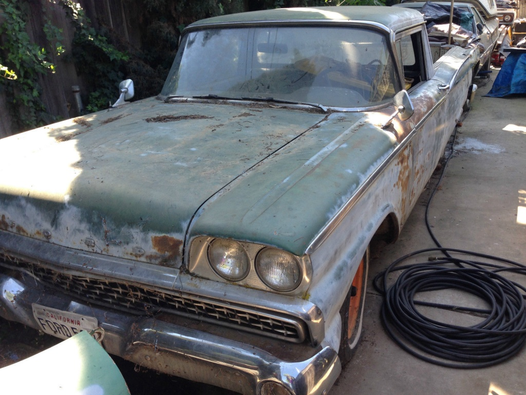 1959 Ford Ranchero Project Package