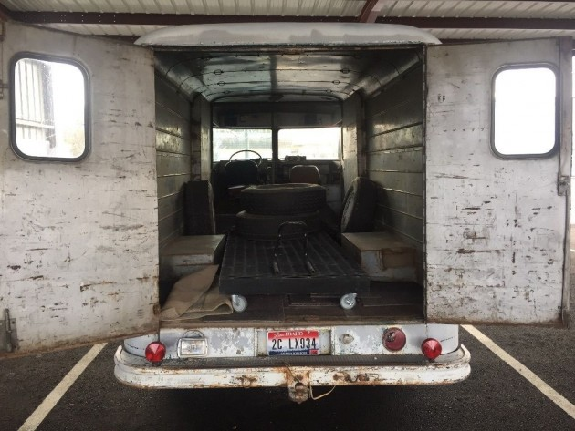 Will You Step Up 1963 Chevrolet P30 Step Van
